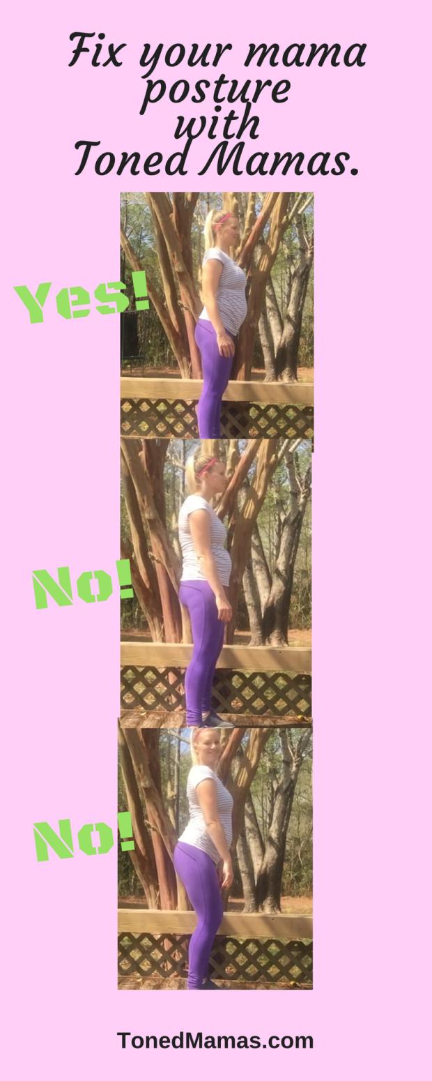 Fix your mama posture.